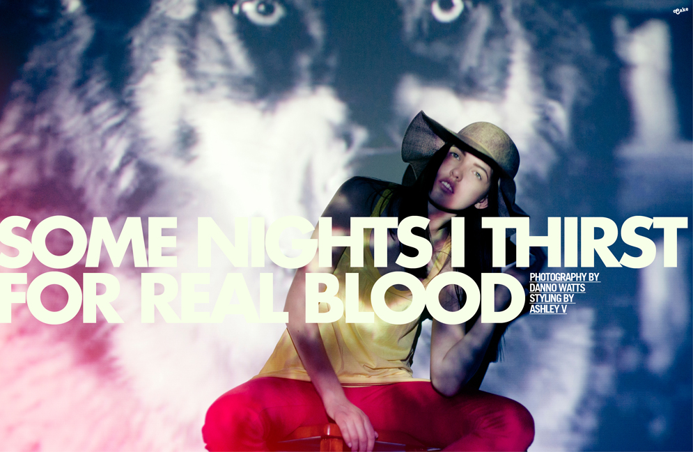 some nights i thirst for real blood #1