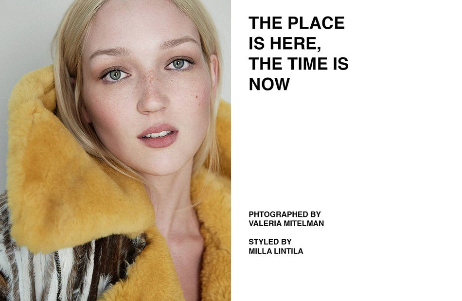 Now is the time here is the place