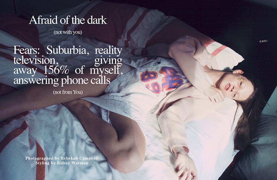 afraid of the dark (not with you)